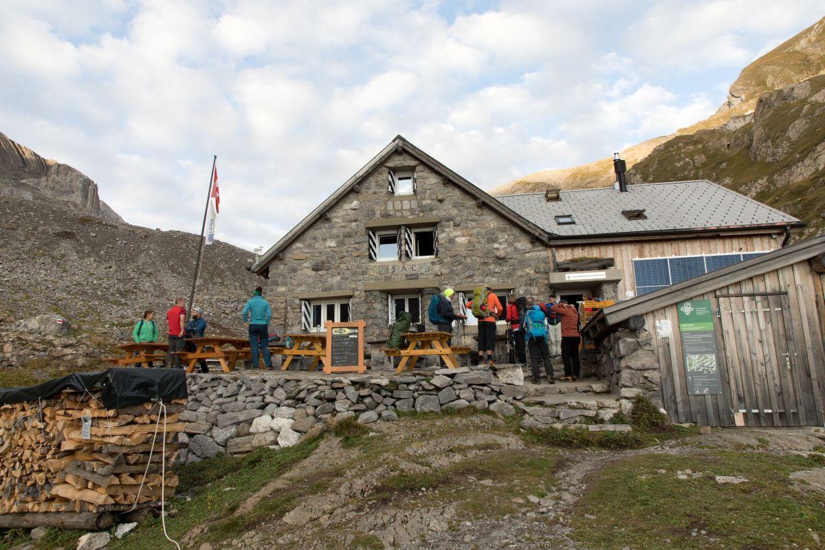 Turnerreise zur Wildhornhütte