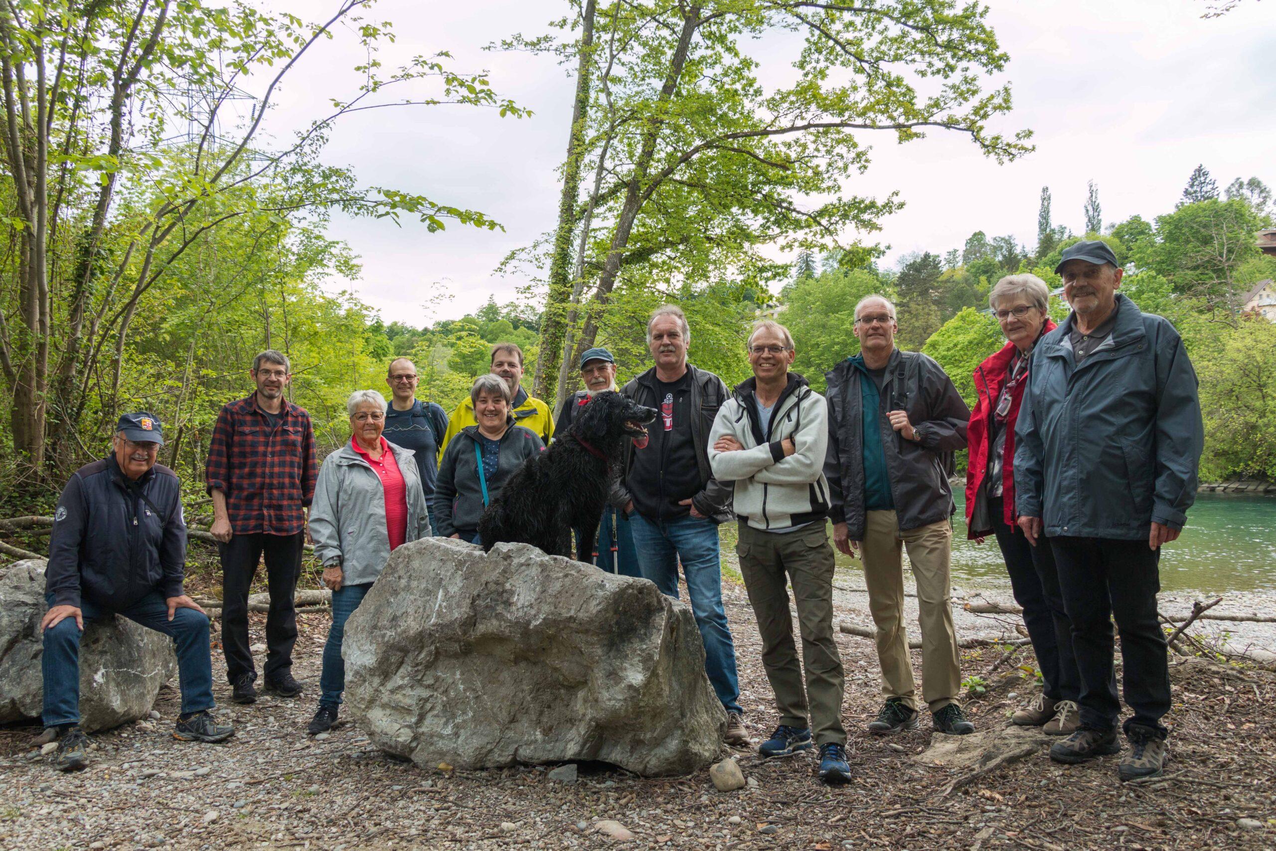 Männer & Senioren: Aarespaziergang